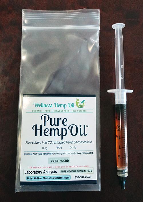 25.86% Pure Hemp Oil Gel Tubes